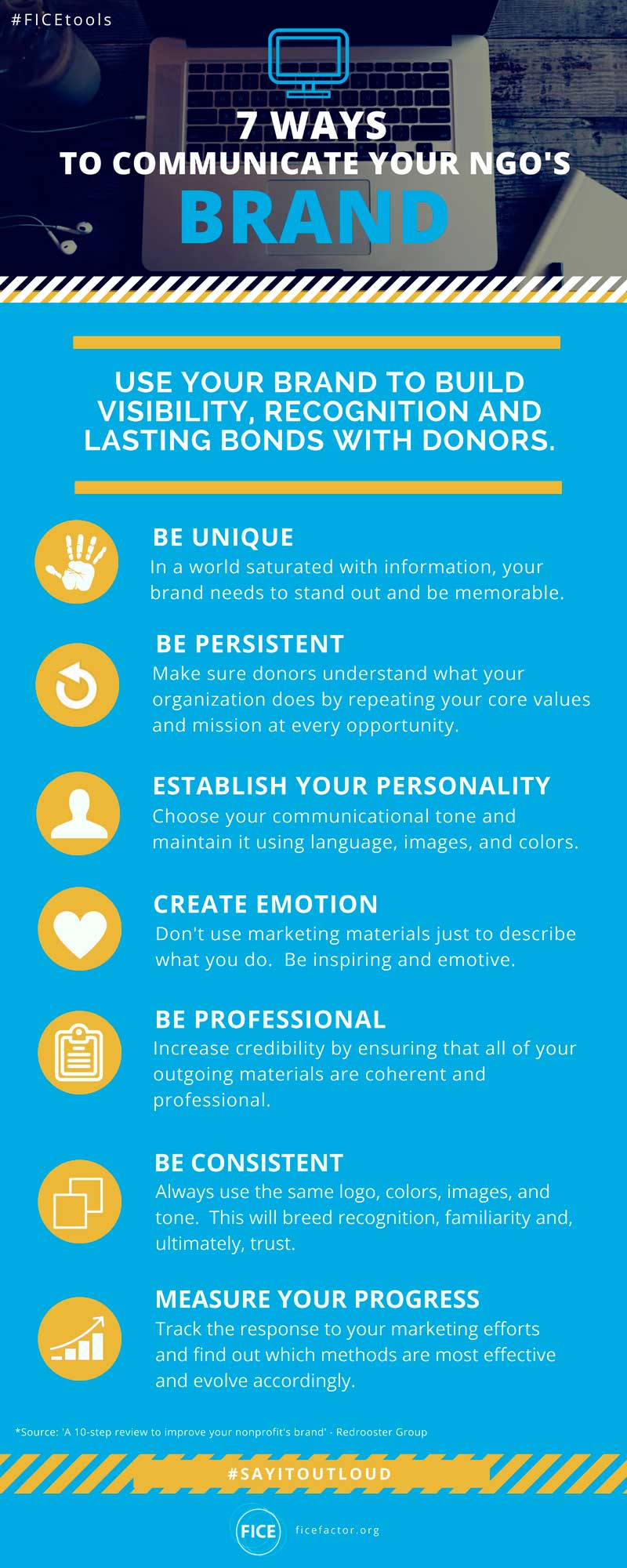 7 ways to communicate your brand
