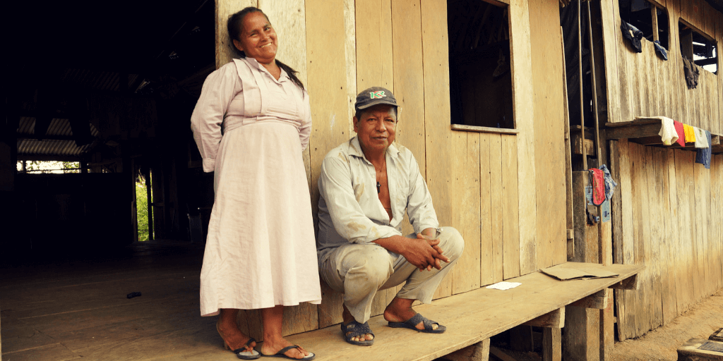 Segundo and his wife in Iquitos